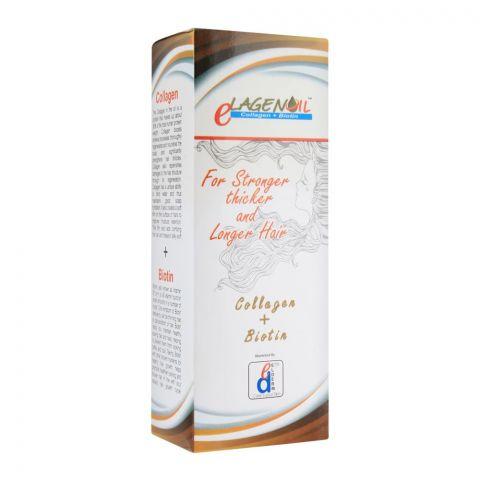 Elderm Elagen Collagen + Biotin Hair Oil, 120ml