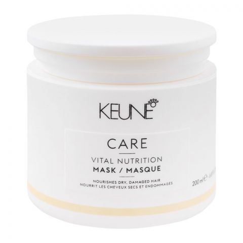 Keune Care Vital Nutrition Hair Mask, Dry/Damaged Hair, 200ml
