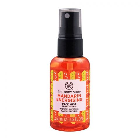 The Body Shop Mandarin Energising Face Mist, 60ml