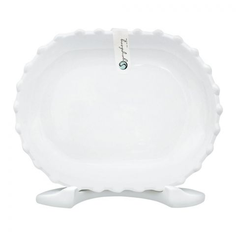 Symphony Pearl Serving Plate, 8.6 Inches, SY-7160
