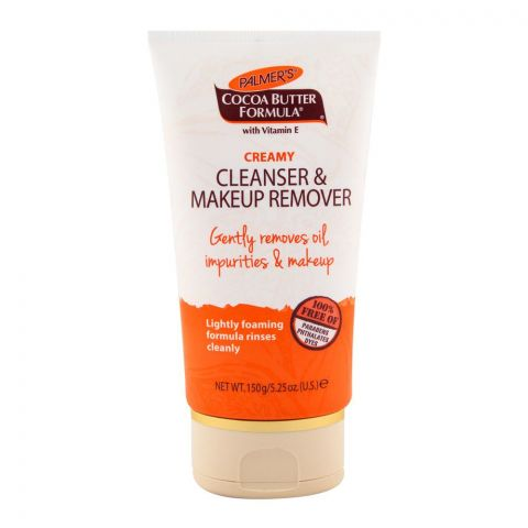 Palmer's Creamy Cleanser & Makeup Remover 150gm