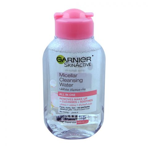 Garnier Skin Active Micellar Cleansing Water, All In One, 100ml