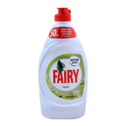 Fairy Apple Dish Washing Liquid 450ml