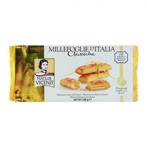 Matilde Vicenzi Puff Pastry Butter Sticks 125gm