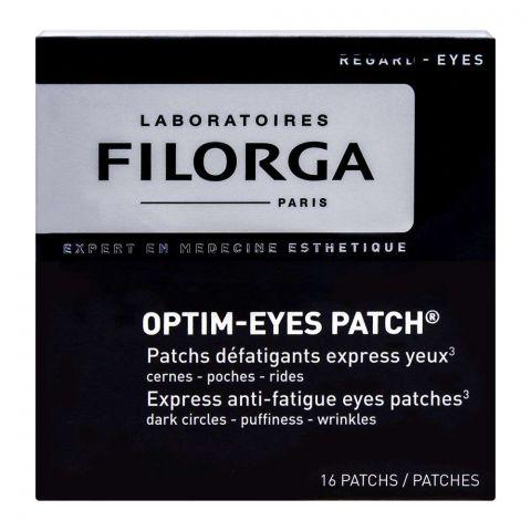 Filorga Optim-Eyes, Anti-Fatigue Eyes Patch, 16 Patches