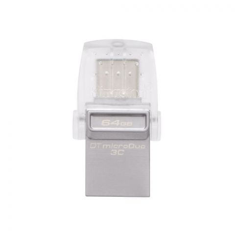 Kingston 64GB Data Traveler Microduo USB 3.1 Type-C Flash Drive