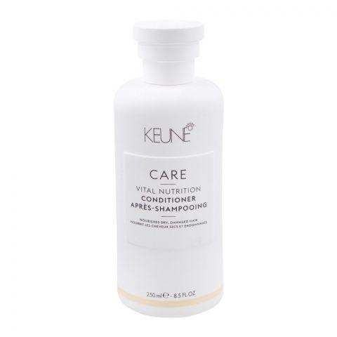 Keune Care Vital Nutrition Conditioner, Dry/Damaged Hair, 250ml