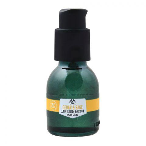 The Body Shop Cedar & Sage Conditioning Bread Oil For Men, 30ml