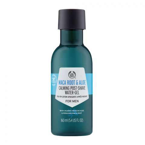 The Body Shop Maca Root & Aloe Calming Post Shave Water Gel, For Men, 160ml