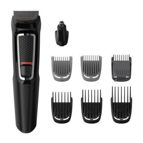 Philips Multigroom All In Trimmer, 8 Tools, Face, Nose/Ear & Hair, MG3730