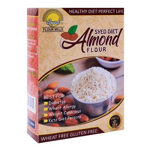 Syed Flour Mills Diet Almond Flour, Wheat & Gluten Free, 500g