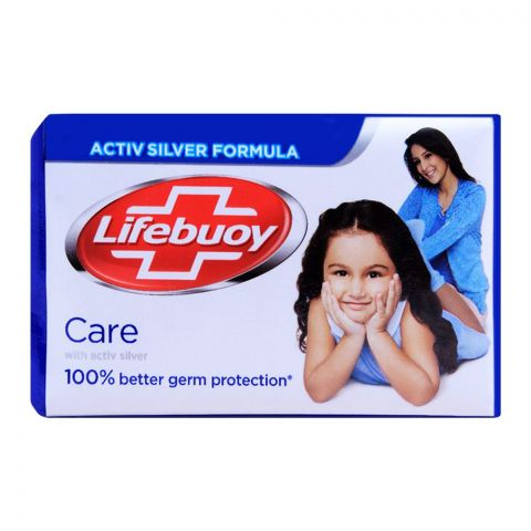 Lifebuoy Care With Activ Silver Soap 112g