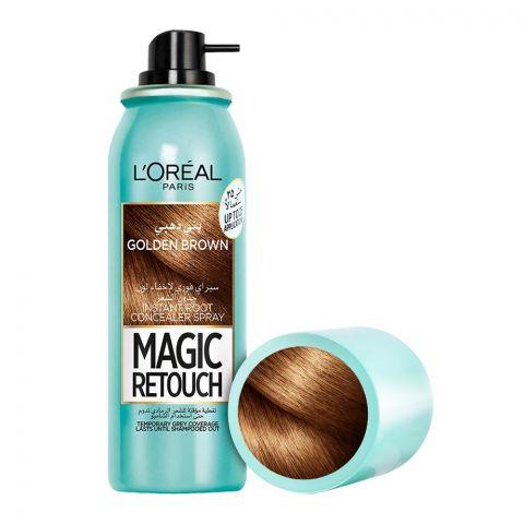 L'Oreal Paris Magic Retouch Instant Root Concealer Spray, Golden Brown, 75ml