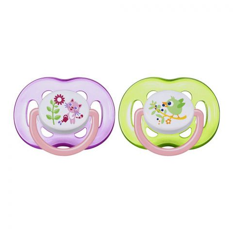Avent Free Flow Soothers 2-Pack 18m+ - SCF186/25