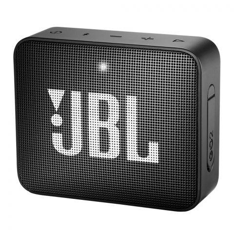 JBL Go2 Portable Bluetooth Speaker Black