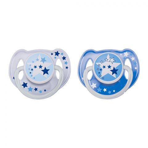 Avent Night Time Orthodontic Soothers 2-Pack 6-18m - SCF176/22