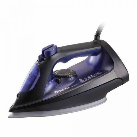 Panasonic Big & Easy Steam Iron, Blue, 2300W, NI-U500C