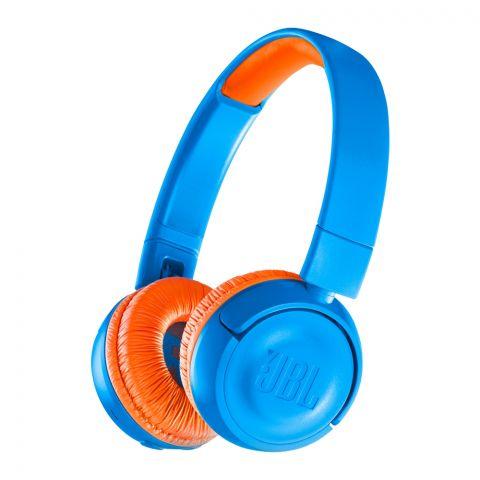 JBL Kids Wireless On-Ear Headphones Blue - JR-300BT