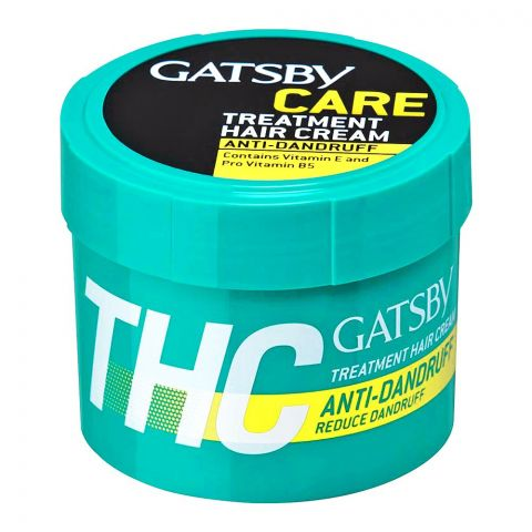 Gatsby Anti-Dandruff Care Treatment Hair Cream, 250g