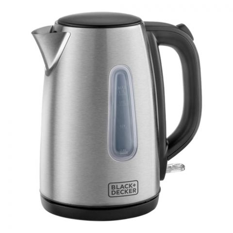 Black & Decker Concealed Coil Stainless Steel Electric Kettle, 1.7 Liter, JC450