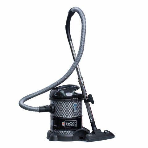 Black & Decker Drum Vacuum Cleaner With Blower, 2000W, 20 Liters, BV2000