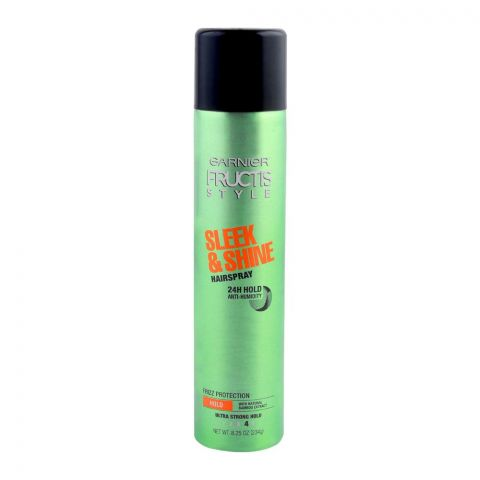 Garnier Fructis Style Sleek & Shine Hair Spray, Ultra Strong Hold, 234g