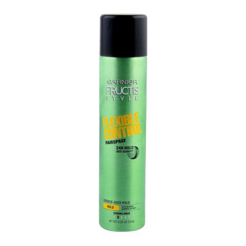 Garnier Fructis Style Flexible Control Hair Spray, Strong Hold, 234g