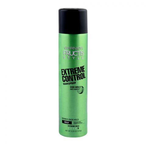 Garnier Fructis Style Extreme Control Hair Spray, Extreme Hold, 234g