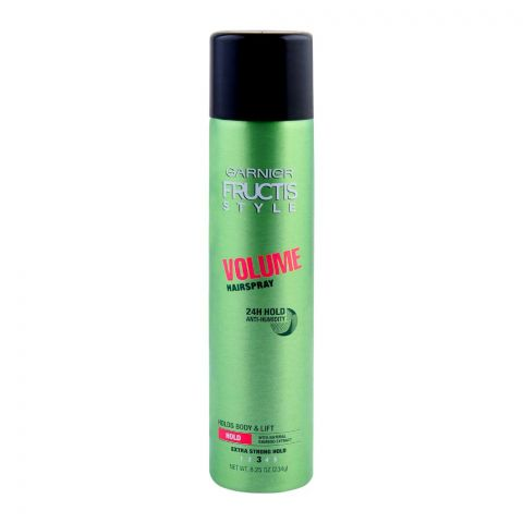 Garnier Fructis Style Volume Hair Spray, Extra Strong Hold, 234g