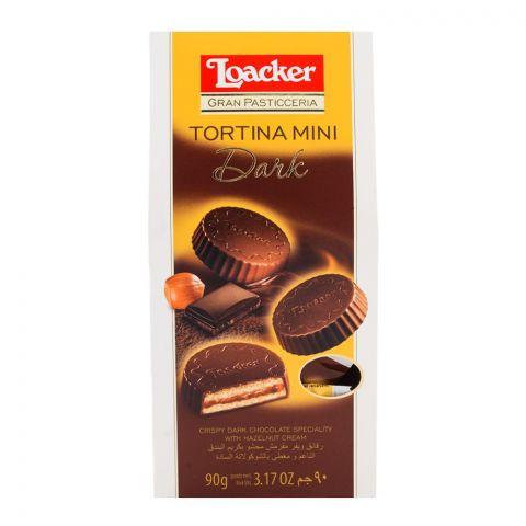 Loacker Tortina Mini Dark 90gm
