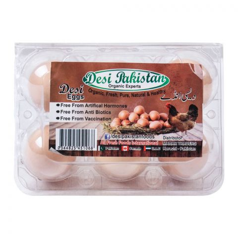 Desi Pakistan Desi Eggs, 6-Pack