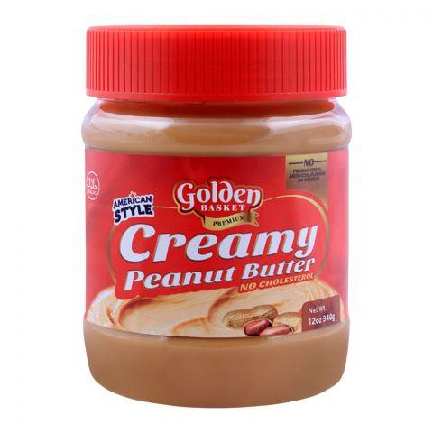 Golden Basket Creamy Peanut Butter 340g