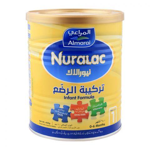 Almarai Nuralac No. 1 Infant Formula-, 0-6 months, 400g