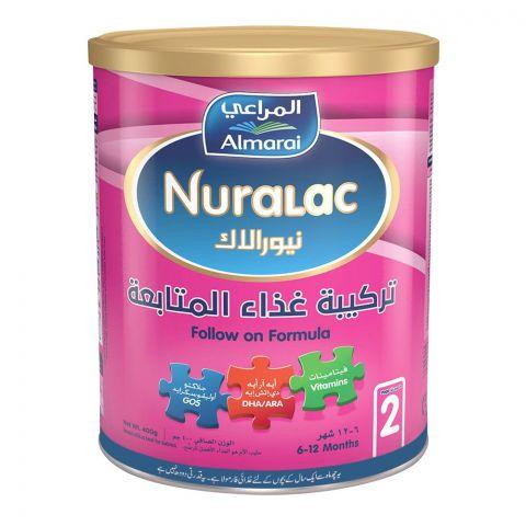 Almarai Nuralac No. 2, Follow-on Formula, 6-12 Months, 400g