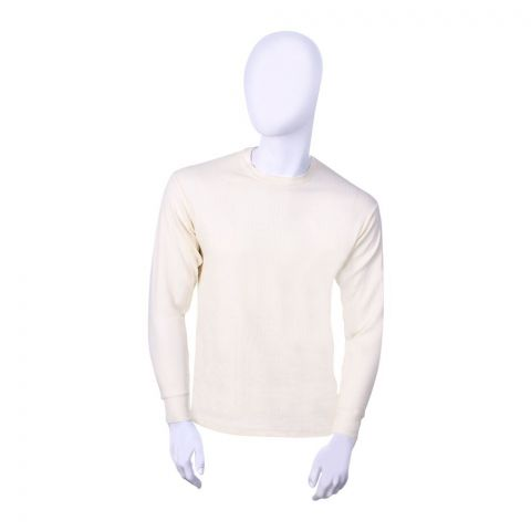 Jockey Full Sleeves Warmer Shirt, Natural - 2015