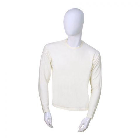 Jockey Premium Model Full Sleeves T-Shirt, Natural - MR2315