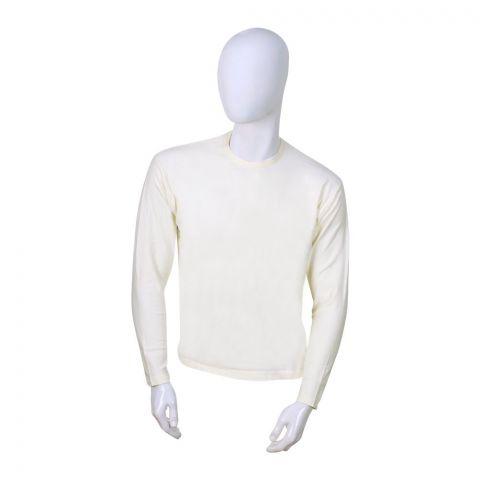 Jockey Premium Model Full Sleeves T-Shirt, Natural - MR2315