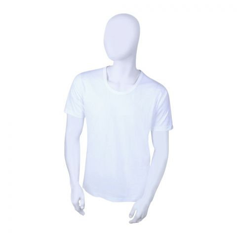 Jockey Classic Round Neck T-Shirt, White - MR9718