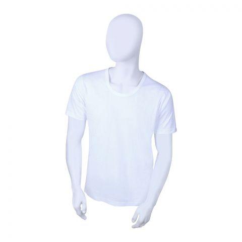 Jockey Classic Round Neck T-Shirt, White - MR9718