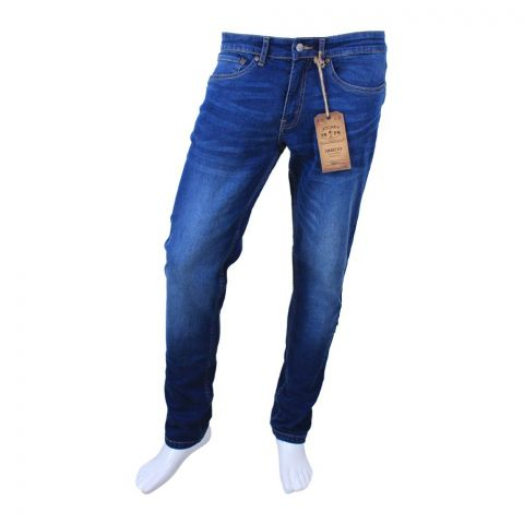 Jockey Slim Fit Jeans, Hudson Blue, MI8AJ10