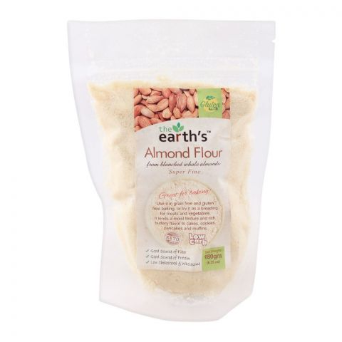 The Earth's Almond Flour, Super Fine, 180g