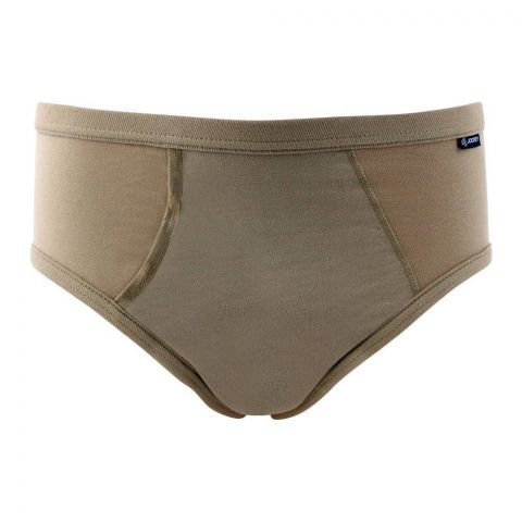 Jockey Elance Wedge Fly Brief, Beige - MR1018