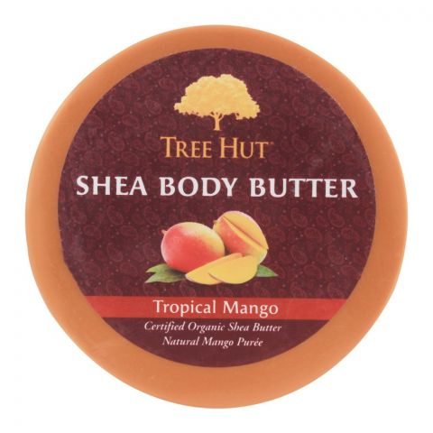 Tree Hut Tropical Mango Shea Body Butter, 198g