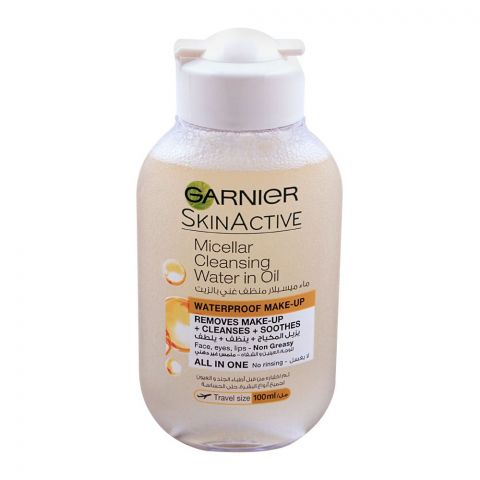 Garnier Skin Active Micellar Cleansing Water In Oil, All In One, 100ml