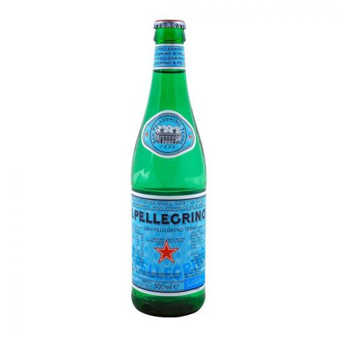 S. Pellegrino Sparkling Natural Mineral Water 500ml
