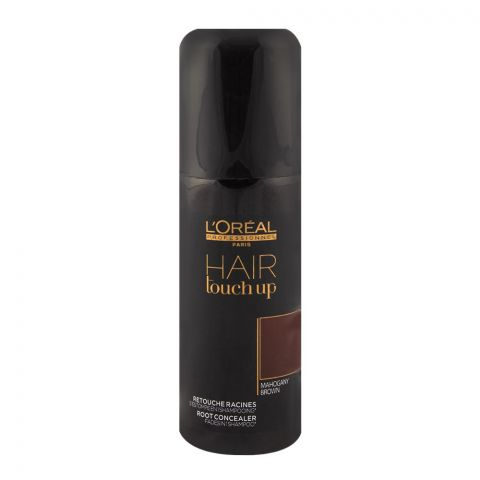 L'Oreal Hair Touch Up Mahogany Brown Concealer Spray 75ml