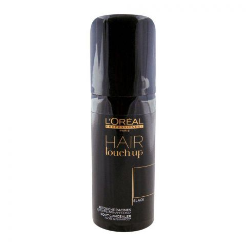 L'Oreal Professionnel Hair Touchup Concealer Spray Black 75ml