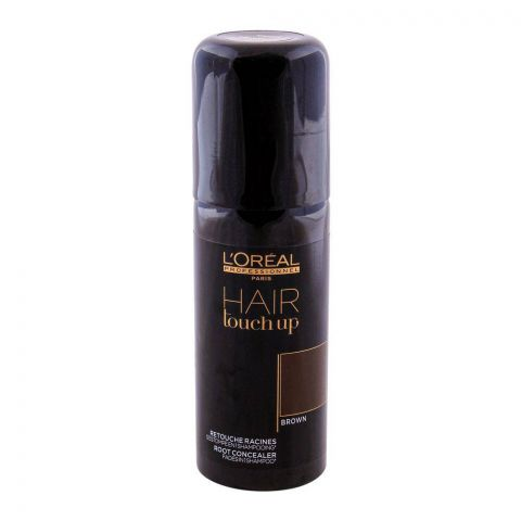 L'Oreal Professionnel Hair Touchup Concealer Spray Brown 75ml