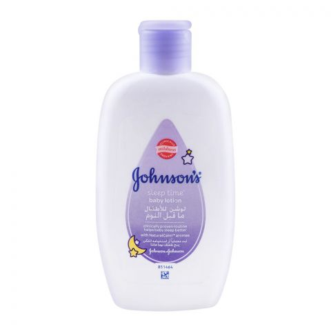 Johnson's Baby Lotion Sleep Time, 200ml