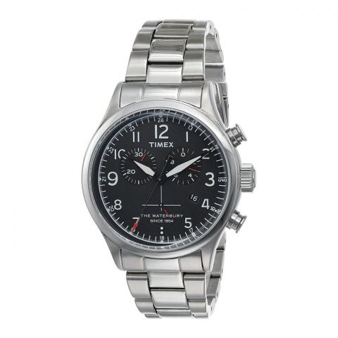 Timex Men's Chronograph Quartz Stainless Steel Strap Watch TW2R38400